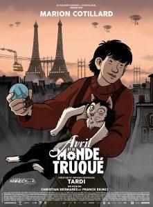 Avril et le monde truqué : un des meilleurs films d'animation
