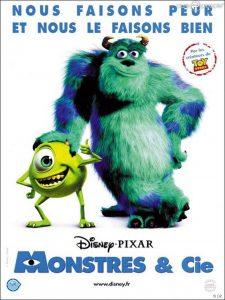 Monstres & Cie : un des meilleurs films d'animation