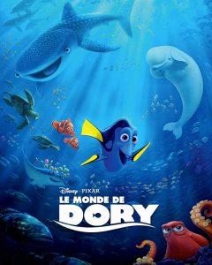 Le monde de Dory : un des meilleurs films d'animation